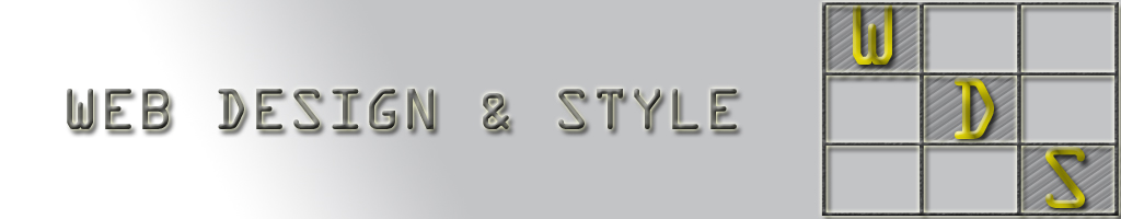 web design and style